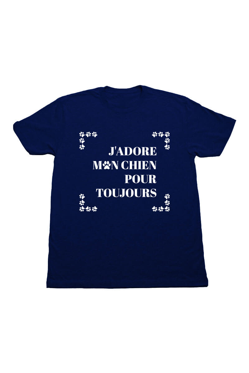 Swaggles J'adore Crew Neck T Shirts Unisex